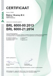 BRL6000-21 cert